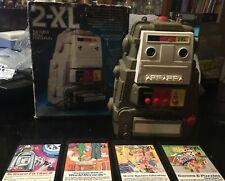 2-XL VintageTalking Robot - Plays 8 Track too