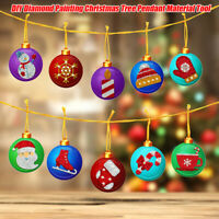 1Set Diamond Painting Tool DIY Handmade Christmas Tree Pendant Hanging Orname YK