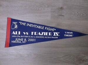 (Laila) ALI vs (Jacqui) FRAZIER IV Pennant June 8 2001 Verona NY