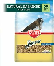 Supreme Finch Food,No Artificial Colors or Flavors,Naturally preserved ,25 Lb