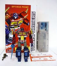 TRANSFORMERS MASTERPIECE OPTIMUS PRIME Platinum Action Figure COMPLETE BOX 2014