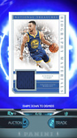 2018-19 National Treasures Stephen Curry 14/49 SSP Patch NBA Dunk *DIGITAL CARD*