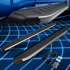 5.75' Metallic/Black Running Board Nerf Step Bars for 2012-2016 Honda CRV SUV
