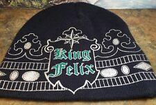 KING FELIX Beanie Collector Item One Size Baseball Beanie EUC