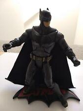 "DC Justice League Batman 6"" custom action figure with Batman logo stand (loose)"