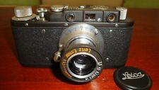 Russian Leica Copy D.R.P. ERNST LEITZ WETZLAR WW2 Vintage 35MM Camera SN292014