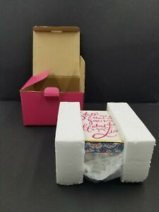 Lilly Pulitzer Style ~ Lacquer Box Keepsakes & Trinkets on Your Vanity Table NIB