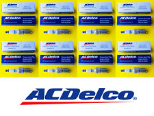 New Set of 8 ACDELCO Double Platinum Spark Plug For General Motors - MADE IN USA