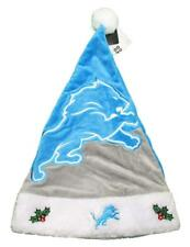 Detroit Lions NFL Holiday Christmas Santa Hat