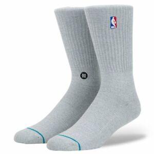 NEW Stance NBA Logo Premium Crew Socks 1 Pair - Men Size Large 9-12