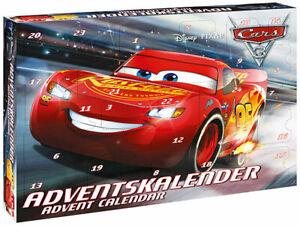 B-Ware: Craze Adventskalender Kalender 57361 Advent Cars 3 mit 3D Figuren 2017