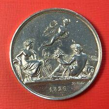 #4991 -Jeton en argent Chemin de Fer de Saint Etienne à Lyon 1826 poinçon Argent
