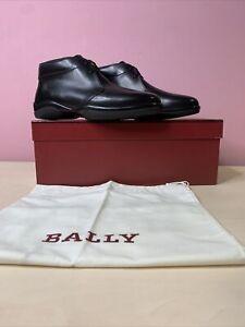 BALLY BLACK CALF PLAIN US 6.5 / UK5.5 Mens Shoes