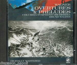 Wagner : Overture & Préludes / Bruno Walter,Columbia Symphony Orchestra - CD