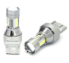 1 Lampada Lampadina Luce M-TECH LED T20 (W21/5W) 7443 12-24V bianco DIODO 21