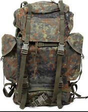 L@@K Awesome German Army Surplus Real Military BackPack RuckSack Hardcore