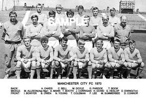 Manchester City FC 1970 Team Photo