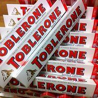 TOBLERONE | Irresistibly Smooth WHITE Chocolate Bar | Honey& Almond Nougat |170g
