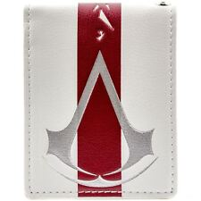 NEW OFFICIAL ASSASSINS CREED BLACK FLAG WHITE ID & CARD BI-FOLD WALLET