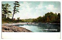 Early 1900s On the Kenduskeag Stream, Maine Postcard