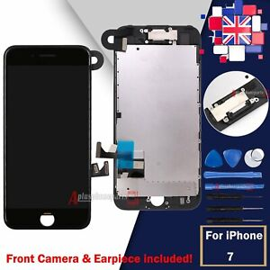 LCD Screen For iPhone 7 Replacement Touch Digitizer Touch Display Camera Black