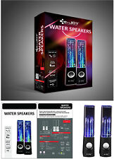 Water Dancing LED Speakers Light Show Water Fountain Multi Color Plug & Play