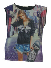 Ärmellose Mädchen-Tops, - T-Shirts