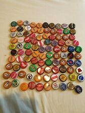bottle caps lot of approximately 100