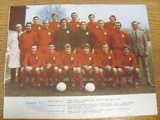 1970/1971 Football League Review: Vol 5 No 01 - Colour Picture - Leyton Orient .