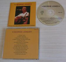 CD ALBUM COUNTRY GEORGE JONES 14 TITRES ONN 40