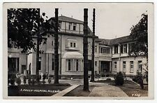 SAO PAULO BRAZIL Brasil RPPC Real Photo Postcard HOSPITAL ALLEMAO Brazilian