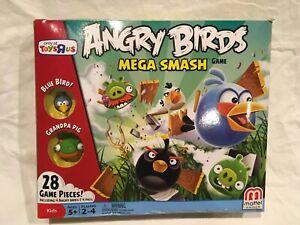 Angry Birds Mega Smash Game