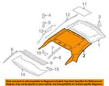VOLVO OEM 06-13 C70 Retractable Top-Headliner 31325753