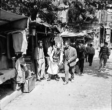TURQUIE c. 1960 -Marchand de Boissons Commerces Istanbul- Négatif 6 x 6 - Tur 50