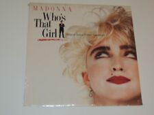 WHO'S THAT GIRL SOUNDTRACK Lp RECORD VARIOUS MADONNA 1987 SEALED