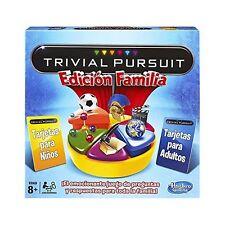 Hasbro Trivial Pursuit Board Game Spanish version .