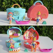 Mini Polly Pocket Italian Holiday Suitcase Gondel & Polly Summer Villa Koffer