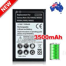 AU Stock Li-ion Battery For Samsung Galaxy Note 3 III N9000 N9005 3500mAh