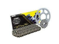 Triple S 520 O-Ring Chain and Sprocket Kit Black Honda CBR500 2013-16
