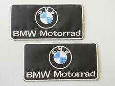 PATCH BMW MOTORRAD NERA N.2 RICAMATE TERMOADESIVE CM.10X5-COD.300
