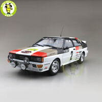 1/18 Minichamps AUDI QUATTRO WINNERS 1981 #2 Diecast Car Model Toys gifts