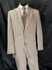 Gray Herringbone Striped Wedding Tux Jacket pants Groomsmen Choose size TUXXMAN