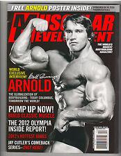 Muscular Development Arnold Schwarzenegger Mr Olympia magazine WITH POSTER 12-12