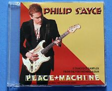 PHILIP SAYCE Peace Machine Rare 2006 Japan 5-Tracks CD Sampler