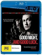 Good Night, and Good Luck. (BLU-RAY) George Clooney Jeff Daniels, Region Free