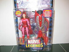 Marvel Legends Scarlet Witch Figure Rider Series with Comic
