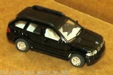 BLACK BMW X5 1/72 SCALE DIE CAST NICE & NEW