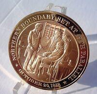 +1818 Oregon Territory - Commemorative SOLID BRONZE Medal - Uncirculated