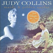 JUDY COLLINS Maids and Golden Apples CD Wildflower Folk Maid of Constant Sorrow