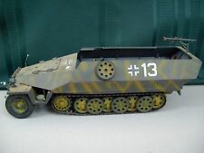 21st Century Toys German Half Track Military Armored Vehicle WWII Toy 1:18